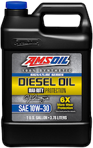 Signature Series Max-Duty Synthetic Diesel Oil 10W-30 (DTT)