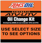 AMSOIL ATV/UTV Oil Change Kits for Can-Am