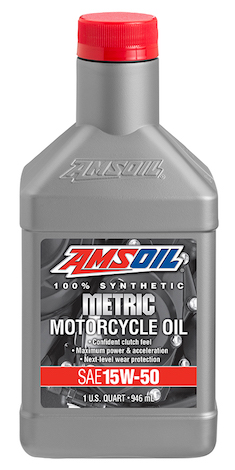 15W-50 Synthetic Metric Motorcycle Oil (MFF)